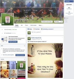 FB ouders langs de lijn